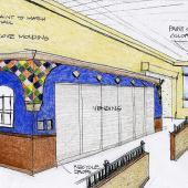 4 MCH Cafe Concept Sketch