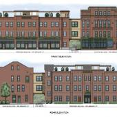2 Gregory Street Apartments Rendered Elevation