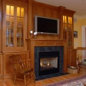 7 Pittsford Family Room Fireplace