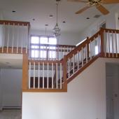 6 Pittsford Stair Before