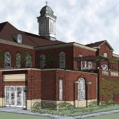 6 David A  Howe Library Rendering