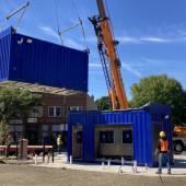4 La Marketa Container Installation